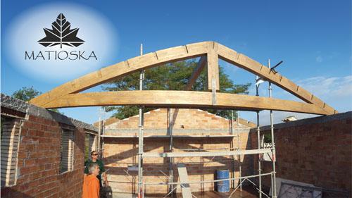 Tejado de cerchas - MATIOSKA - Diseño y construcción con madera