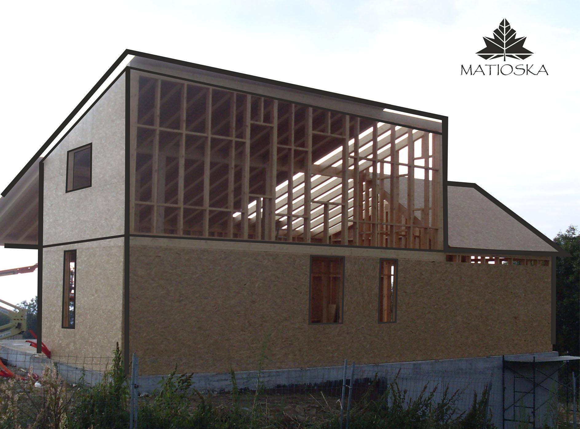ENTRAMADO LIGERO - MATIOSKA - Diseño y construcción con madera